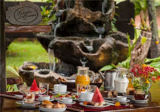 Araras Eco Lodge Frühstück