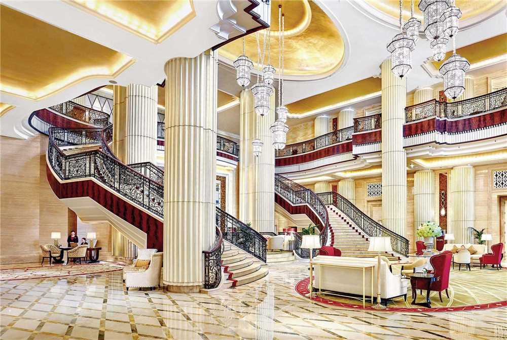 St. Regis Abu Dhabi Empfangsbereich