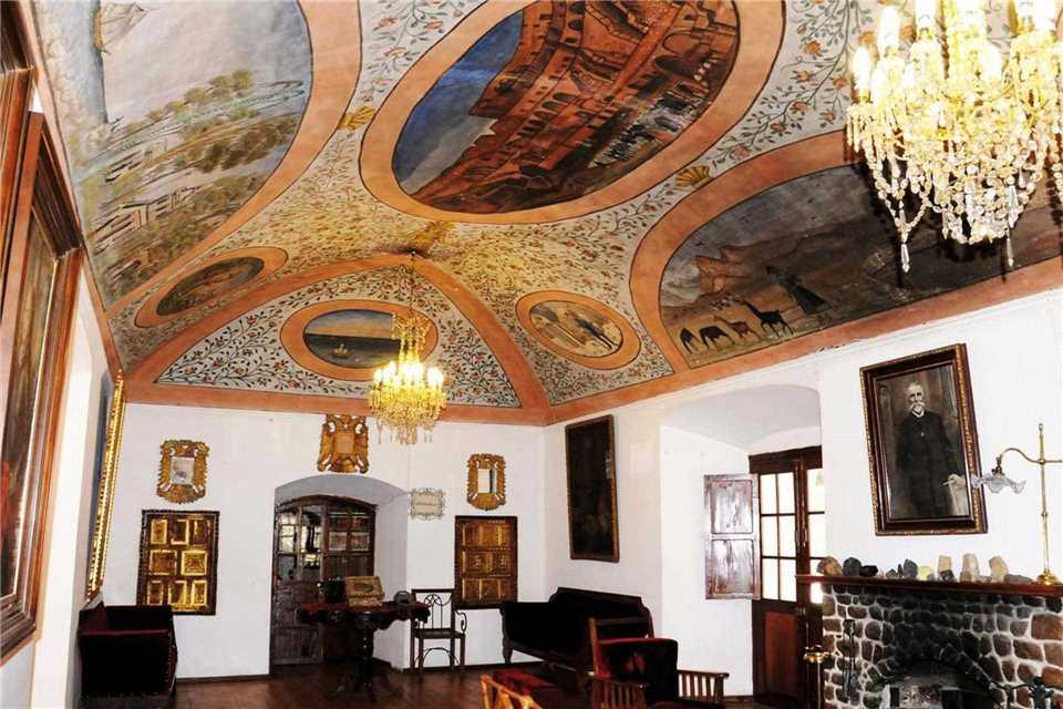 Hacienda Museo Cayara Eingangsbereich