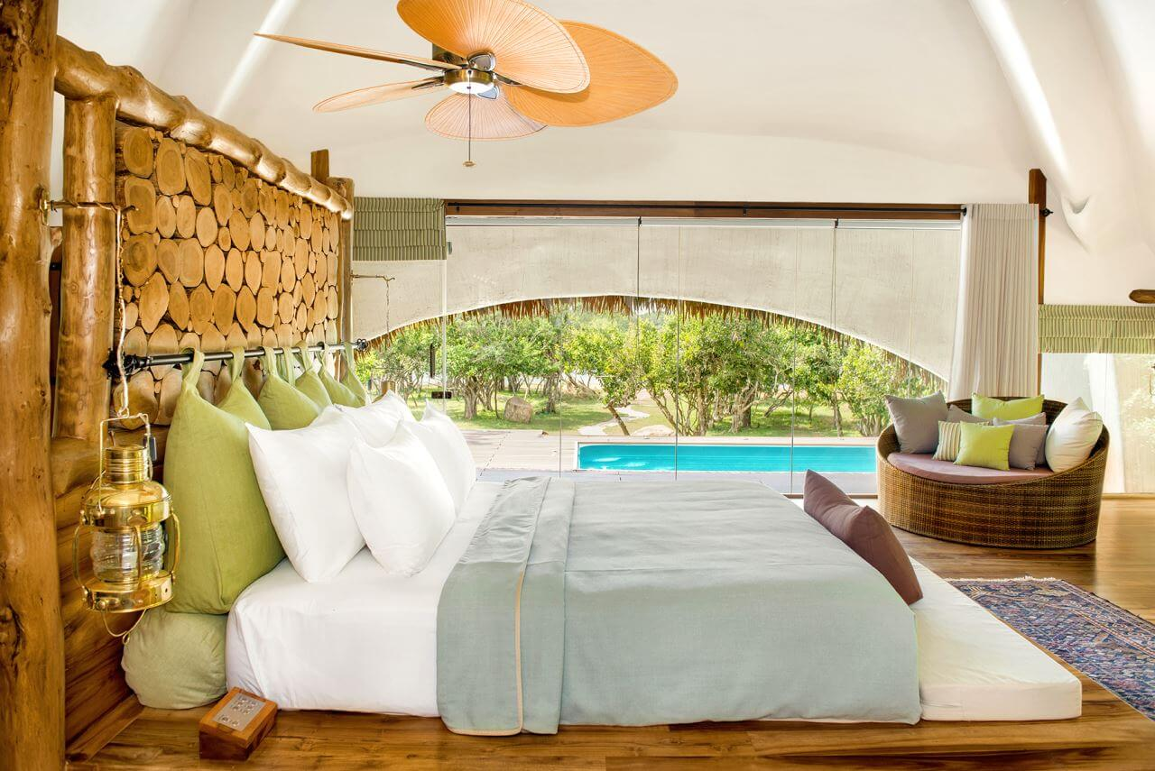 Chena Huts Schlafzimmer