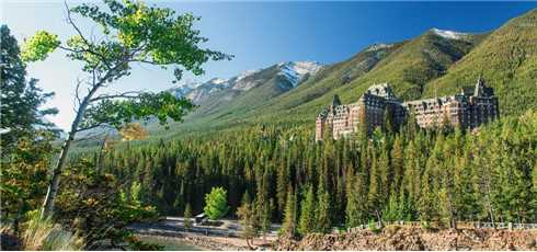 The Fairmont Banff Springs Außenansicht
