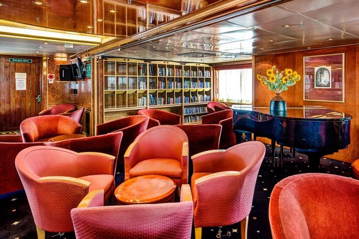 Poseidon Expeditions Sea Spirit Lounge