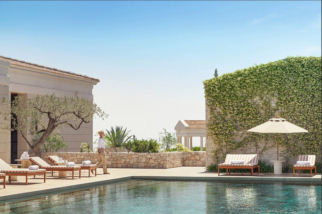 Amanzoe Resort Pool