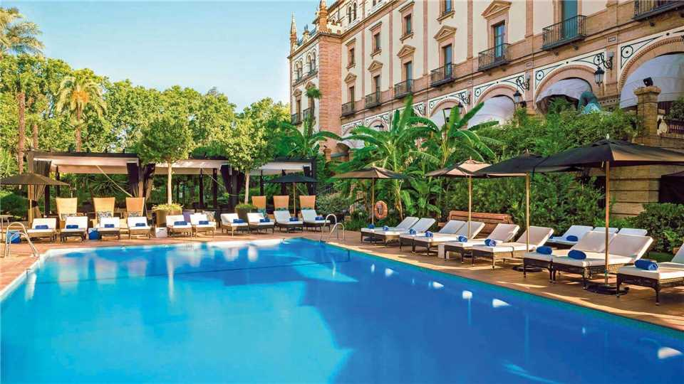Hotel Alfonso XIII Pool