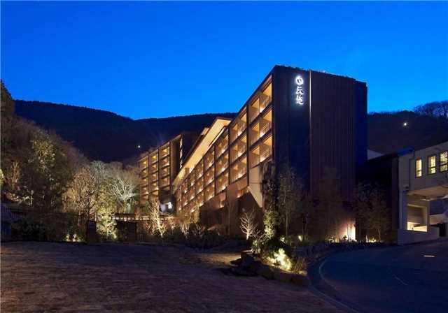 Hakone Kowakien Tenyu Hotelansicht
