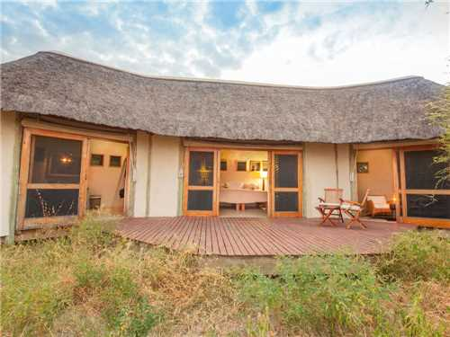 Nxai Pan Camp Wellnessbereich