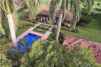 Hacienda Bambusa Außenansicht
