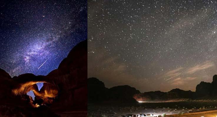 Sun City Camp im Wadi Rum Sternbeobachtung