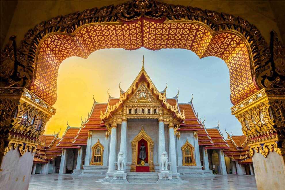 Wat Benchamabophit in Bangkok, Thailand