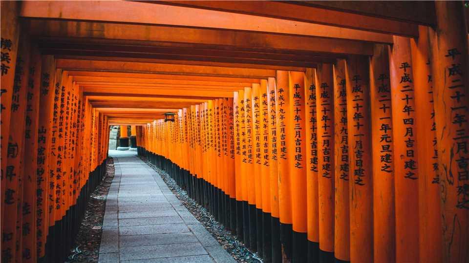 Japan - Itsukushima-Schrein