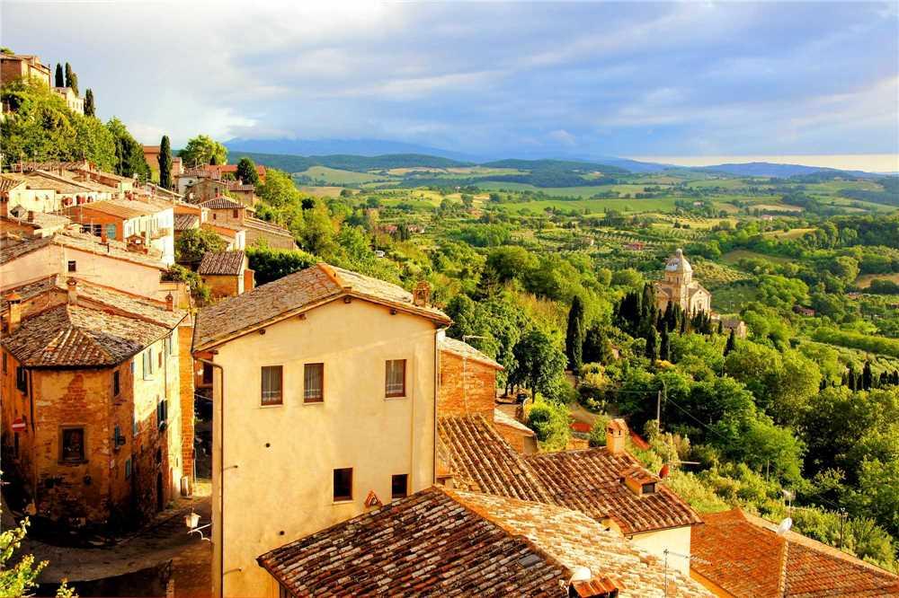 Italien - traumhafter Ausblick
