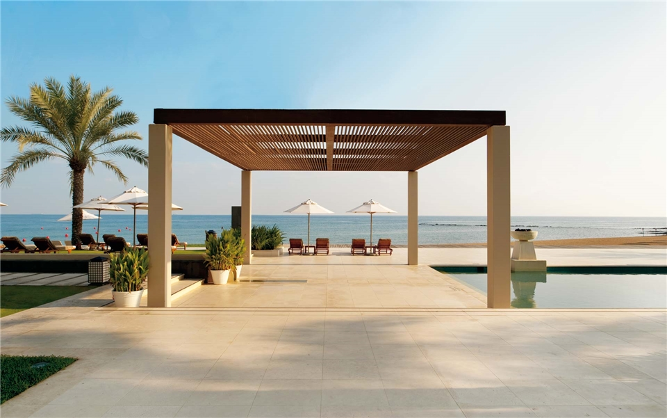 Oman Poolanlage Luxushotel Al Bustan Palace