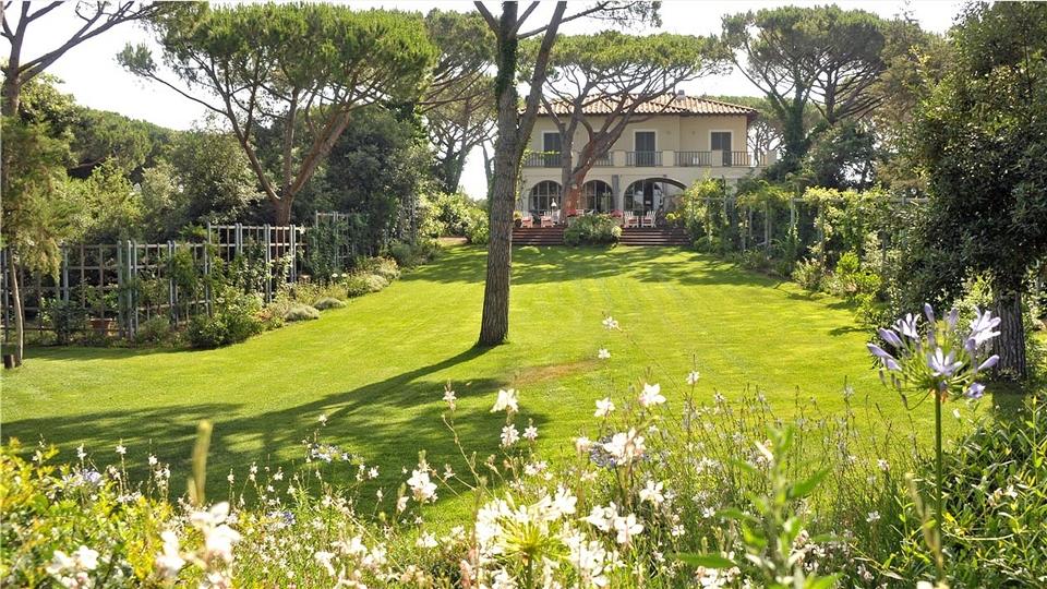 Villa Tombolino Gartenblick