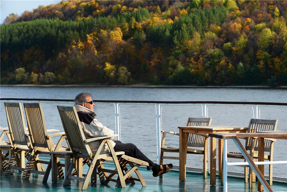 Volga Dream Cruises Volga Dream Sonnendeck