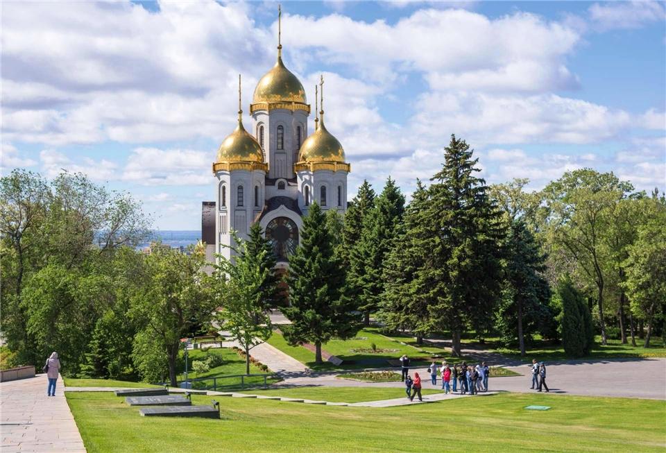 Volga Dream Cruises Volga Dream Russland - Kirche der Allerheiligen bei Mamayev Kurgan in Wolgograd