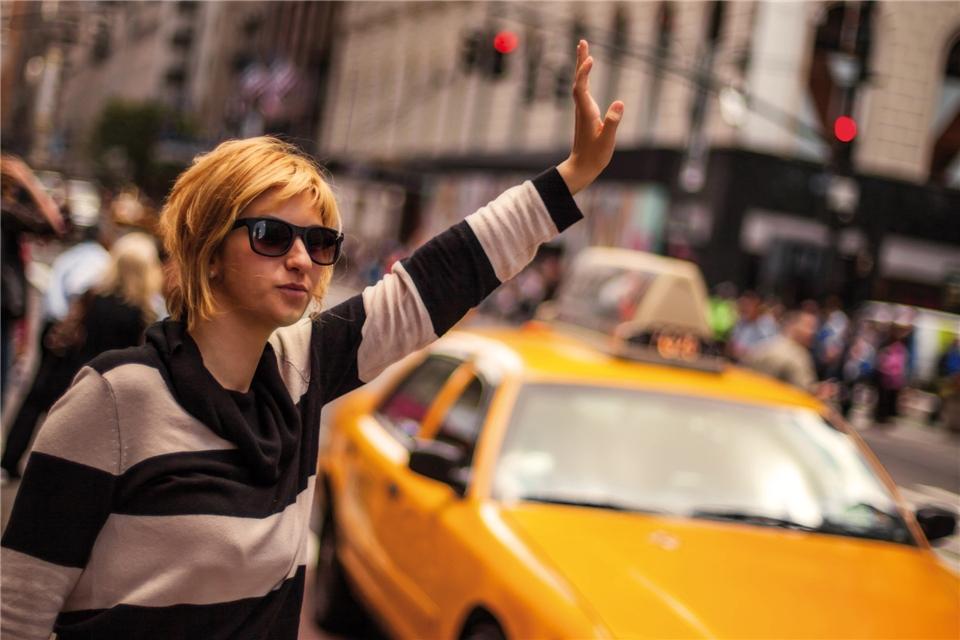 New York Amerika Taxi