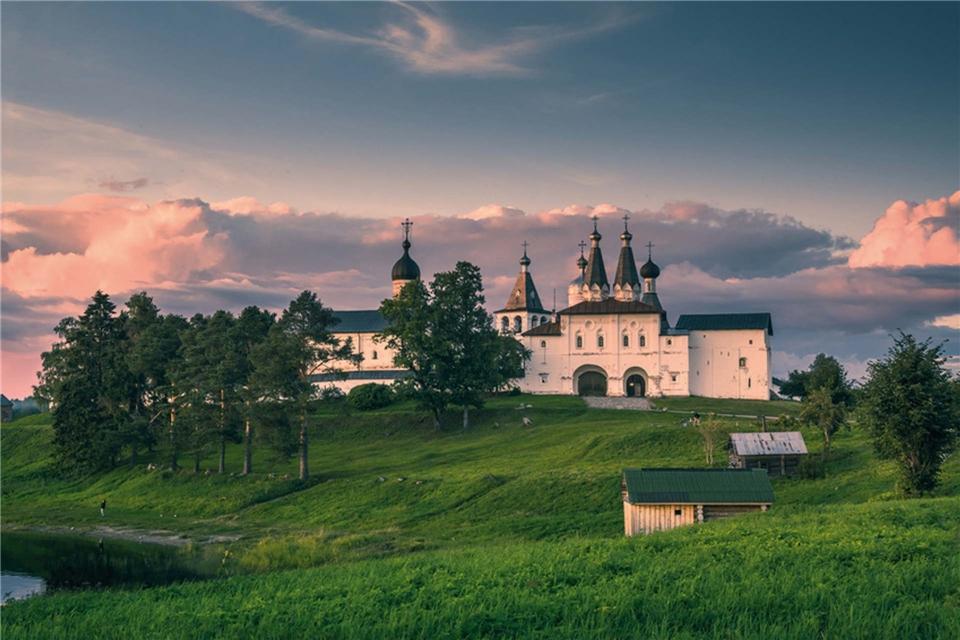 Volga Dream Cruises Volga Dream Russland Kloster Ferapontow