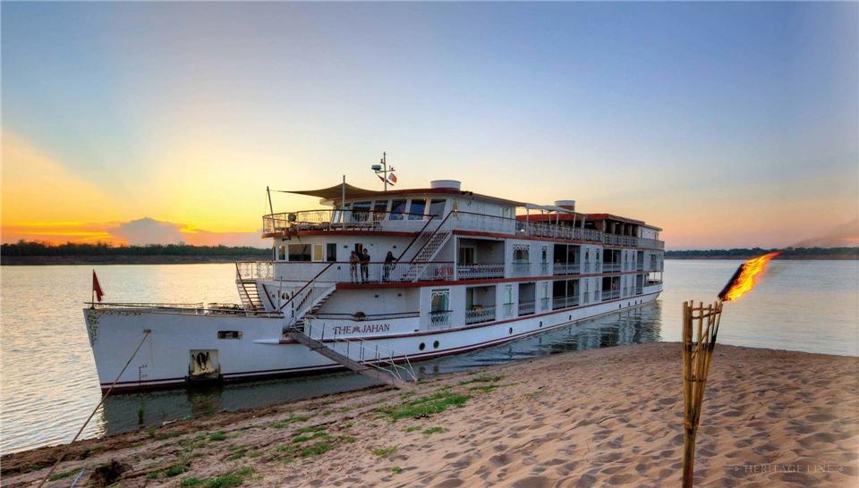 Mythos Mekong Schiff The Jahan