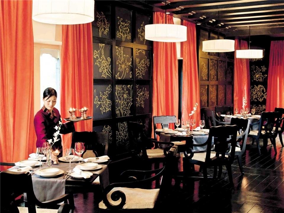Himalaja - Restaurant im Taj Tashi Hotel