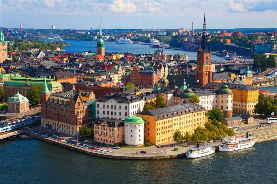 Göta Kanal MS Juno Schweden Stockholm
