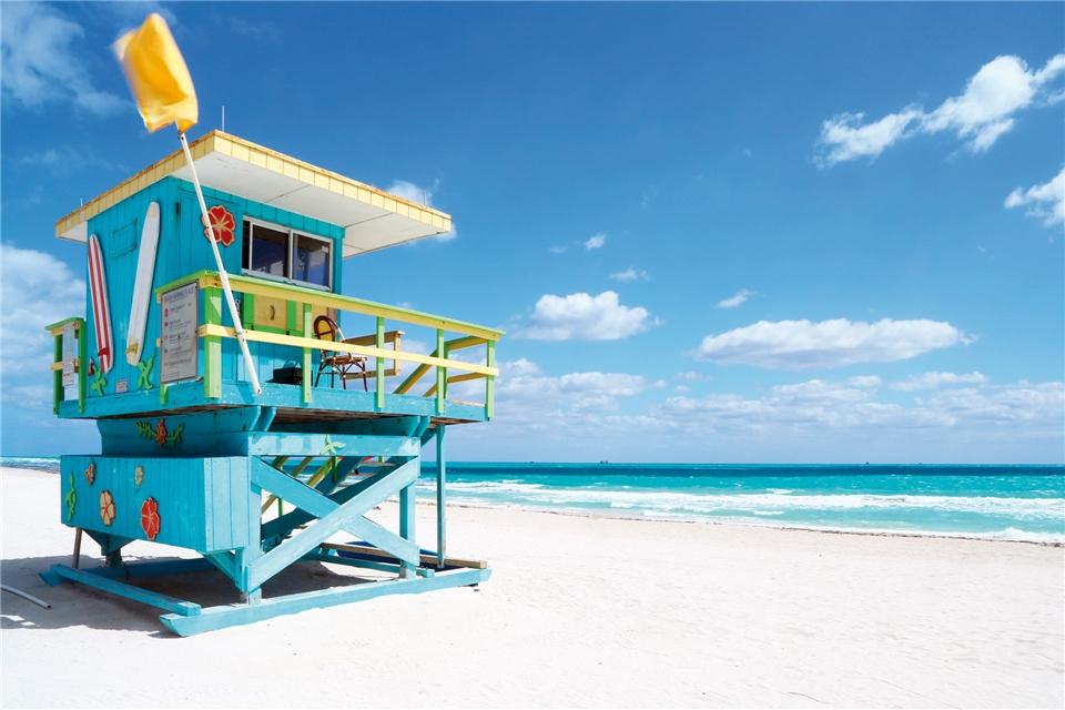 Kuba Strandhaus in Miami