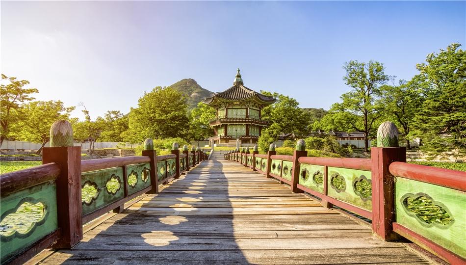 Korea Brücke in Seoul