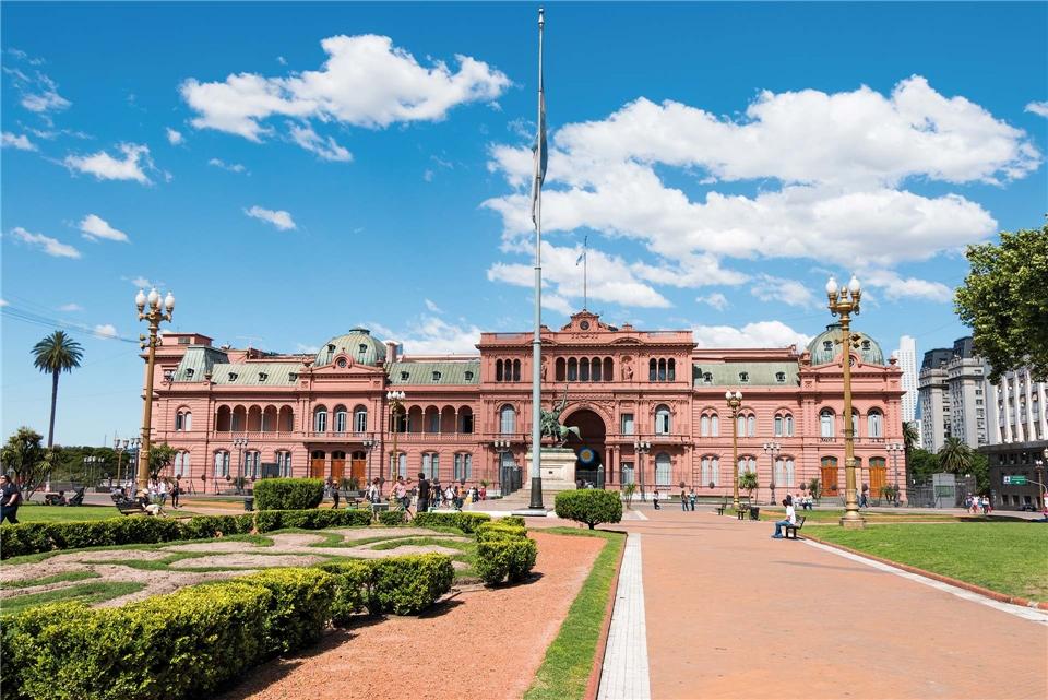 Auszeit in Südamerika Präsidentenpalast Casa Rosada