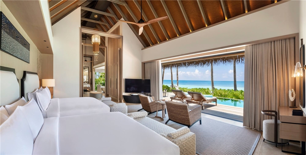 Waldorf Astoria Maldives Beach Villa