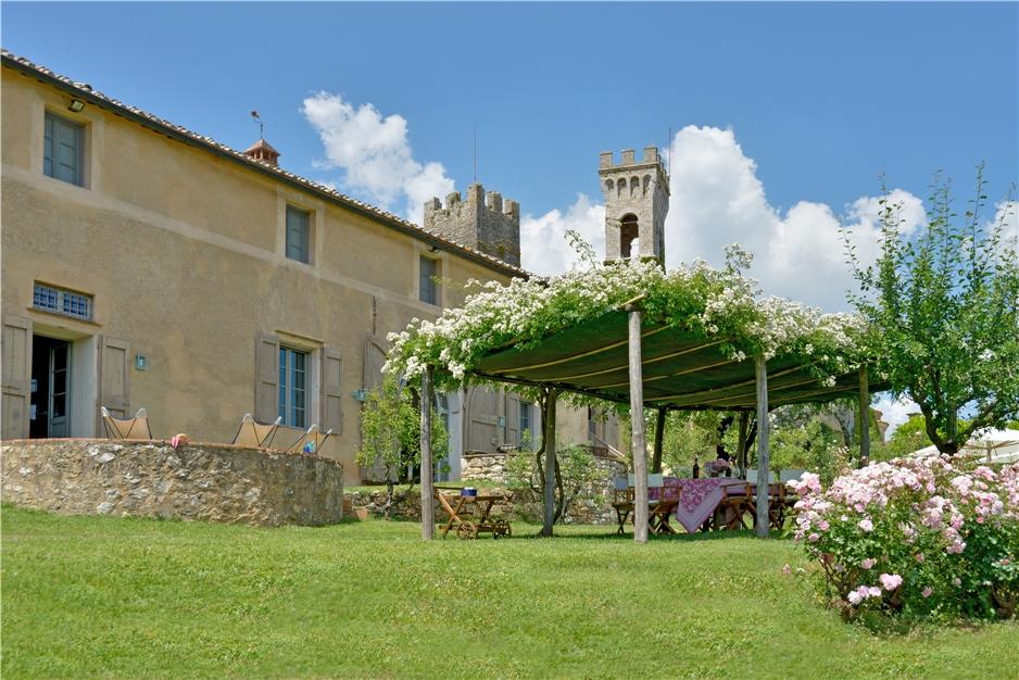 Villa La Limonaia Garten - Toskana