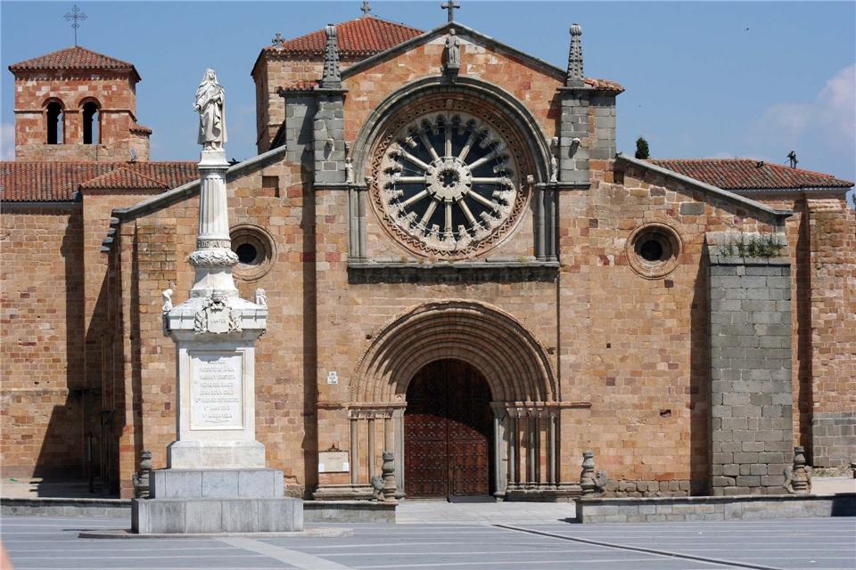Spanien - Avila Vorplatz