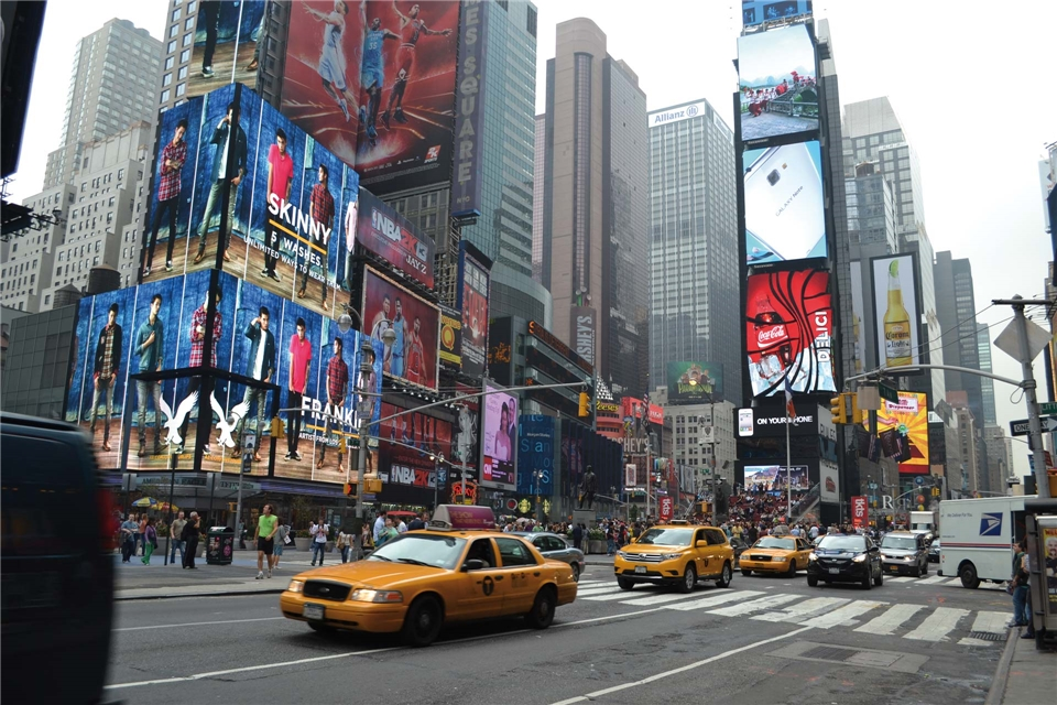 New York Times Square in New York