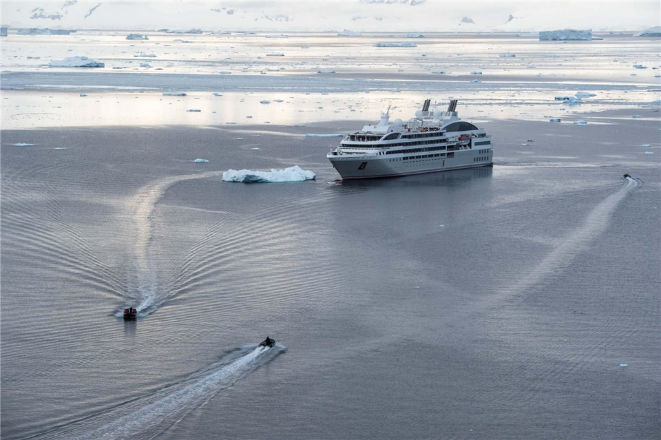 Ponant Le Lyrial Antarktis - Schiff von Ponant