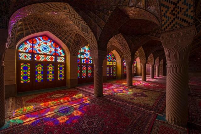 Nordostiran bis zur Lut Wüste Iran Shiraz Moschee