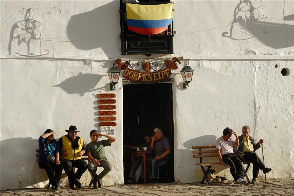 Kolumbiens Schätze Männer in Villa de Leyva