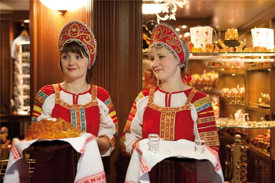 Volga Dream Cruises Volga Dream Empfang