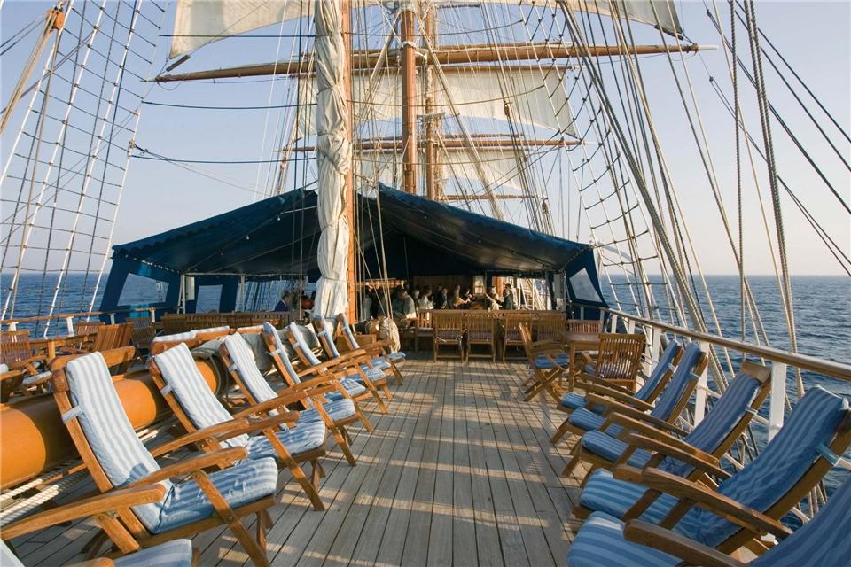 Sea Cloud Cruises Sea Cloud II Sonnendeck