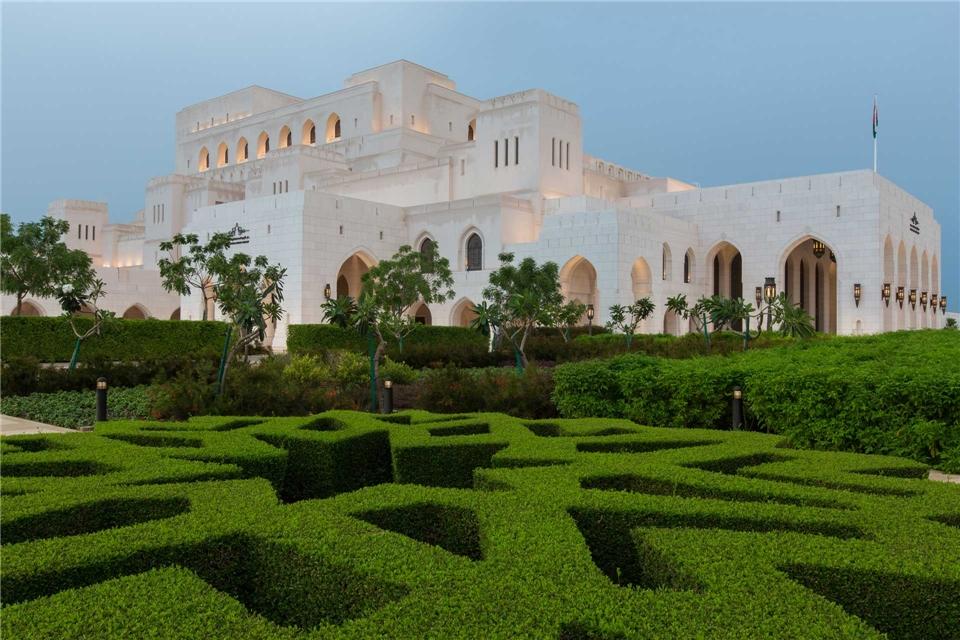 Opernreise Muscat Royal Opera House Muscat mit Garten