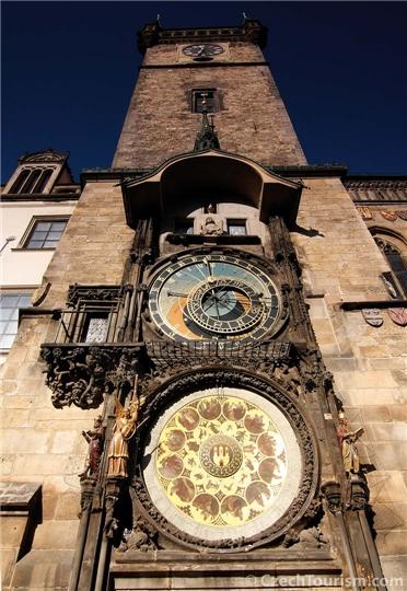 Tschechien - Rathausuhr in Prag