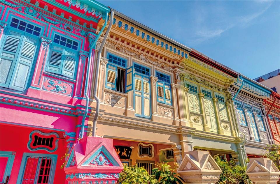 Asien Peranakan-Häuser