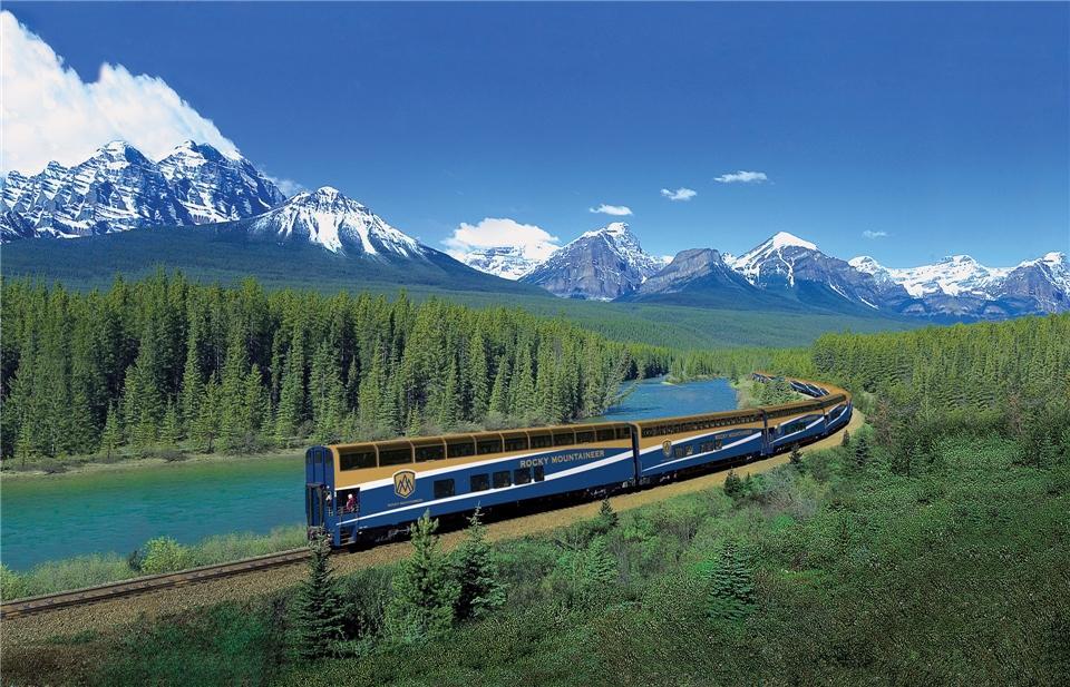Kanada - Der Rocky Mountaineer in Kanada