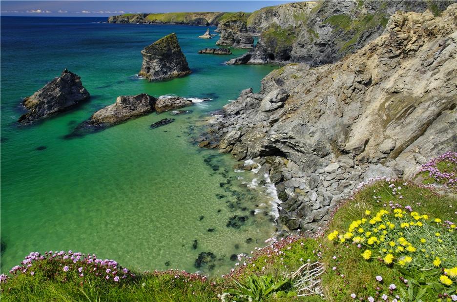 Südengland - Küste in Devon