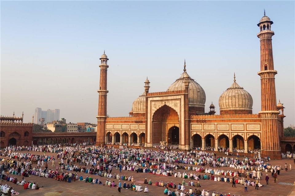 Indien Jama Masjid in Delhi