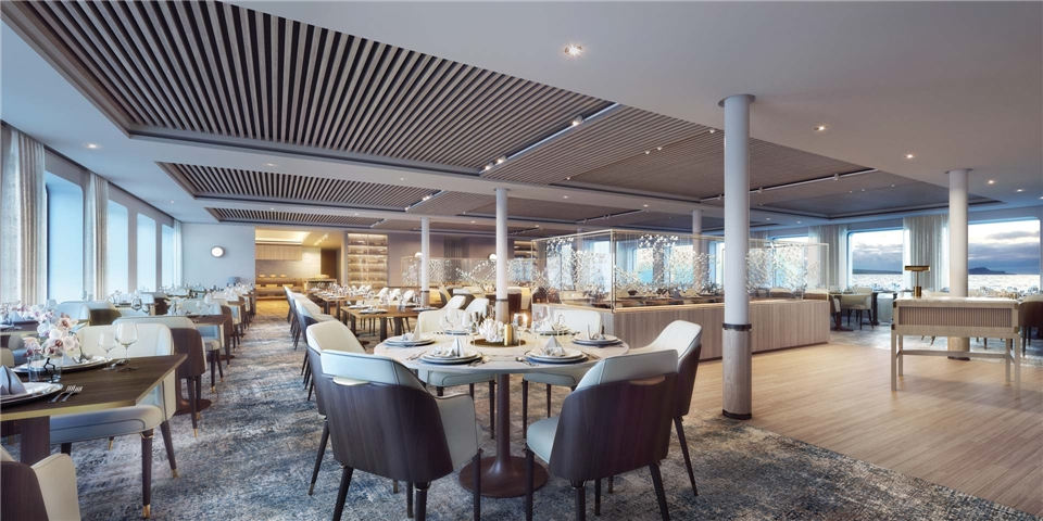 Silversea Cruises Silver Origin Restaurant