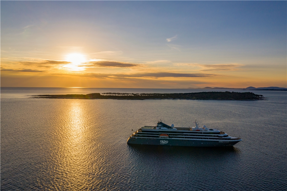 Nicko Cruises World Voyager Außenansicht