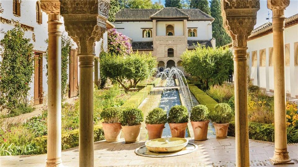 Paradores und Paläste Palacio de Generalife in der Alhambra