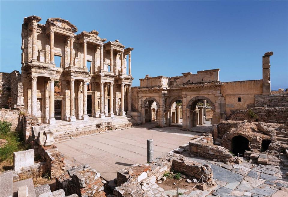 Griechenland Celsus Bibliothek