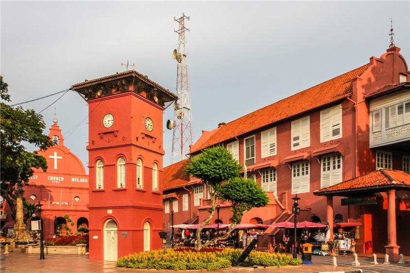 Malysia - Standansicht von Melaka