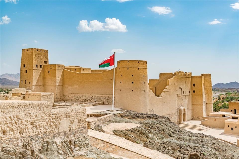 Oman Spirit of Arabia Festung von Bahla