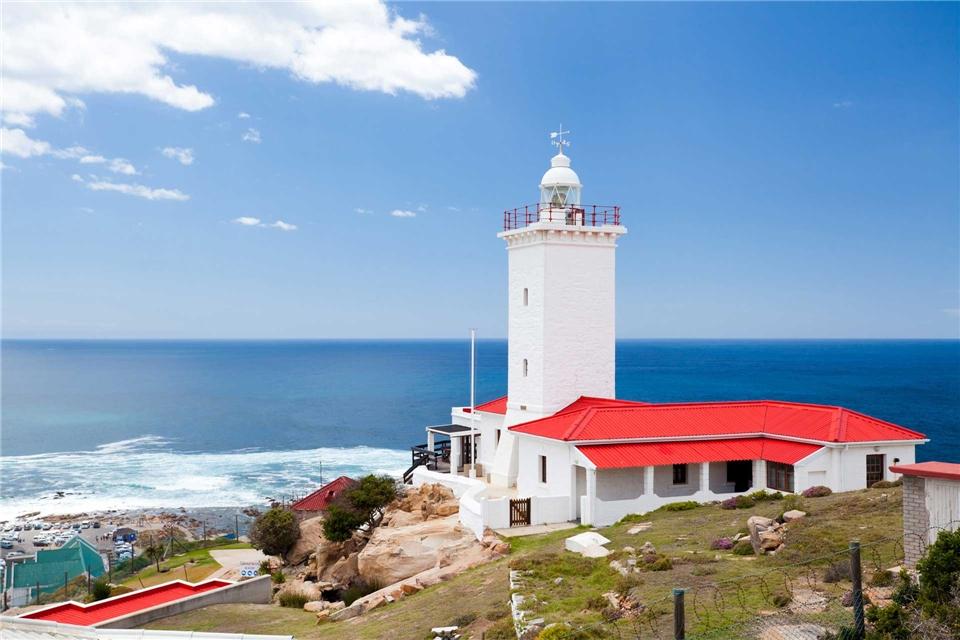 Oceania Cruises MS Nautica Leuchtturm an der Mossel Bucht