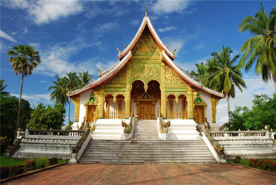 Thailand Tempel von Luang Prabang
